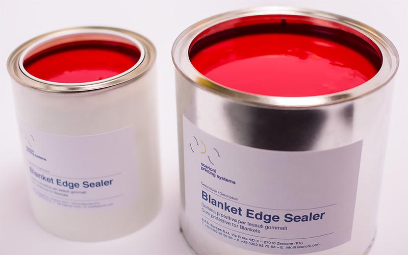 Blanket Edge Sealer Scarioni Printing Systems