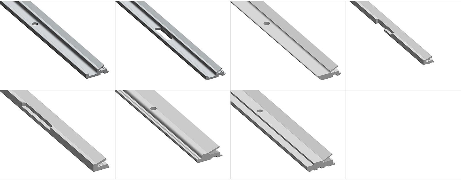Barre Speciali Alluminio Scarioni Printing Systems